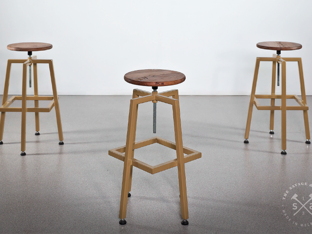 OX Bar Stool by The Savage & Scott - Stools, Metal