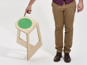 Spot Stool by Noddy Boffin - Stool