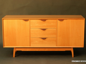 Shadow Sideboard by Anthony (Neil) Erasmus - Sideboard, Tv Cabinet, Cabinet, Midcentury Modern, Danish Design