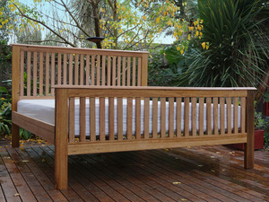 Woollahra Bed by Peter Wenborn - Bed, Contemporary, Sustainable Timber