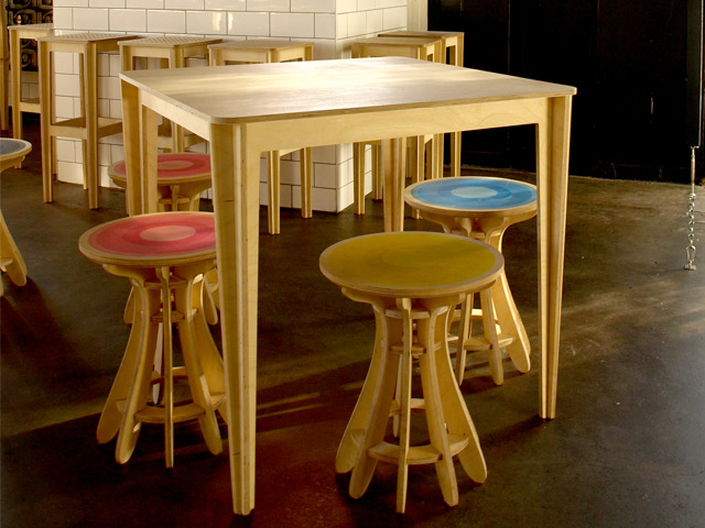 Cruciform Table by Power to Make - Timber, Table