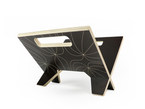 Magazine Rack by Power to Make - Magazine Rack, Rack, Plywood, Homeware