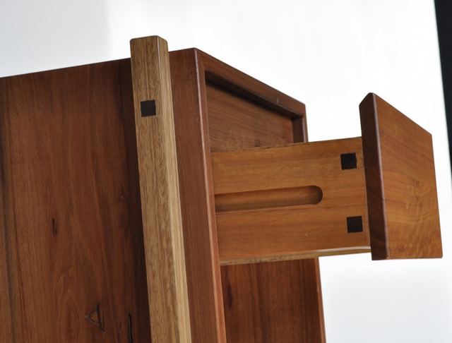 Colin & George bedside tables by Niall Little - Recycled, Blackbutt, Red Iron Bark, Rustic
