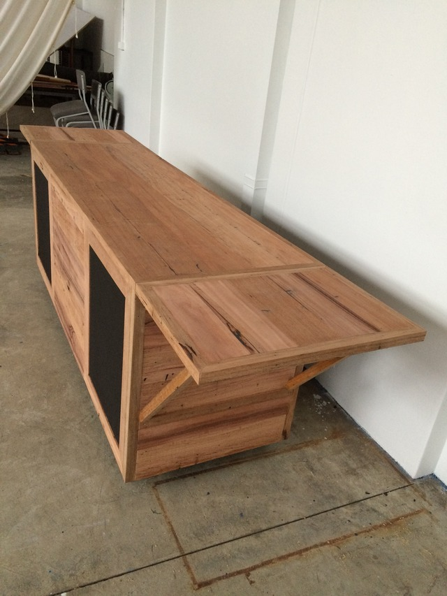 coffee cart by Niall Little - Rustic, Coffee Cart, Market Stall, Shop, Display, Recycled