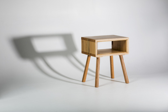 The 'Walker' Side Table by GLENCROSS FURNITURE - Console Table, Side Table, Bedside Table, Custom Made, Recycled Timber, Solid Timber, Traditional, Contemporary, Rustic, Melbourne