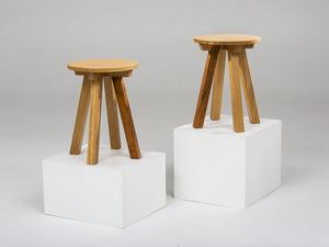 The Oak-B Side Table by GLENCROSS FURNITURE - Side Table, American Oak, Blackwood, Stool, Bedside, Living Room, Kitchen, Melbourne, Unique Design, Custom Furniture