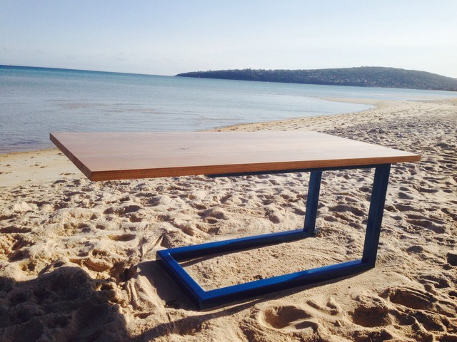 90° Cantilever Gecko Table by TimberYard Co. - Hardwood, Innvation, Made To Order, Unique, Handmade, Engineered