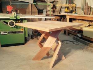 Twistwood by TimberYard Co. - Unique, Hardwood, Innovation, Handmade, Square, Custom, Table, Dining, Recycled