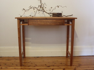 Writing Desk - New Guinea Rosewood  by Andrew Blake - Writing Desk, Hall Tables