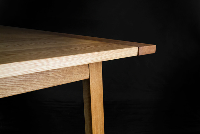 The International Table by makimaki Furniture Works - Dining Table, Makimaki, American White Oak, Brisbane, Breadboard End