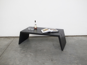 Ti - Fi Table by Paradox Movement - Furniture Making, Furniture Design, Home Decor, Coffee, Table, Oregon, Black, Reclaimed