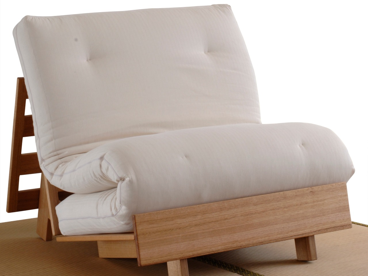 3 Fold Sofa Bed With Legs By Zen Beds And Sofas By Dan Walker Handkrafted