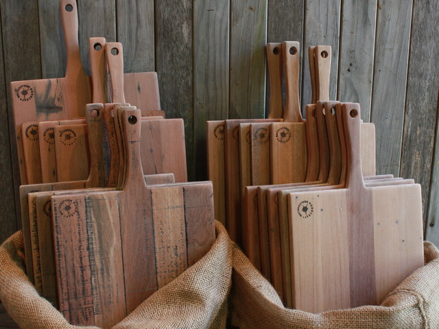 Hardwood Serving Boards by Ewan  Wotherspoon - Wooden Chopping Boards, Serving Boards, Platters, Kitchen Utensils, Recycled Hard, Cheese Boards
