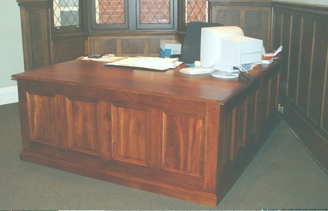 Mahogany Partners Desk by Andrew Alstin - Reproduction Furniture Melbourne, Antique Desks Melbourne, Antique Reproduction Furniture, Custom Made Furniture