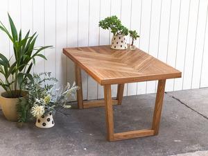 Herringbone  by Leah Hudson-Smith - Coffee Table, Custom, Design, Herringbone, Parquetry, Timber, Furniture, Desk, Table, Woodwork