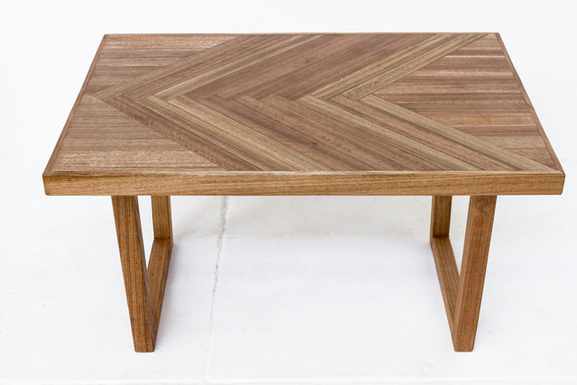 Herringbone  by Leah Hudson-Smith - Coffee Table, Custom, Design, Herringbone, Parquetry, Timber, Furniture, Desk, Table, Woodwork