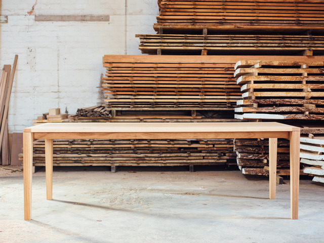 Brix Table by Hugh Makin - Messmate, Recycled, Blackbutt, Dining Table, Contemporary