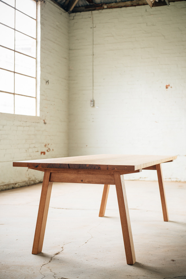 Dune Table by Hugh Makin - Messmate, Dining Table