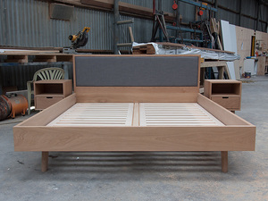 King Size Bed by Relm Furniture - Oak, Bed, Bespoke