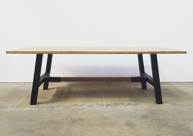 Forty Five Table by The Savage & Scott - Table, Rustic, Industrial