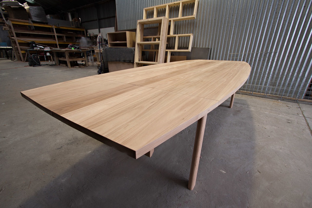 table extension. extension table by relm furniture - dining table, extension, blackbutt, australian timber i