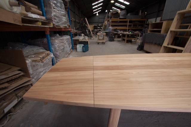 Extension Table by Relm Furniture - Dining Table, Extension, Blackbutt, Australian Timber