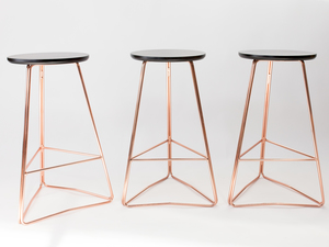 TRI650 bar stool by HUNT FURNITURE - Stool, Barstool, Kitchenstool, Chair