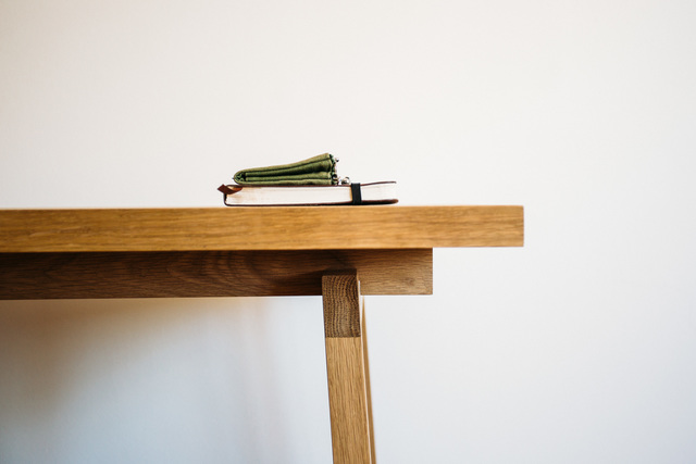 Stoke Desk by Jeremy Lee - Furniture, Sustainable, Disassemble, Desiign, Handmade