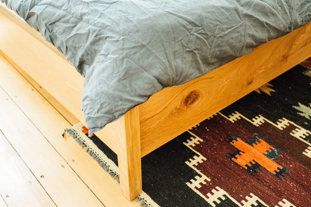 Lay Bed by Jeremy Lee - Oak, Bed, Sustainable, Design, Furniture, Handmade