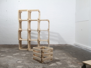 Nesting Crates by Like Butter - Storage, Shelving, Plywood