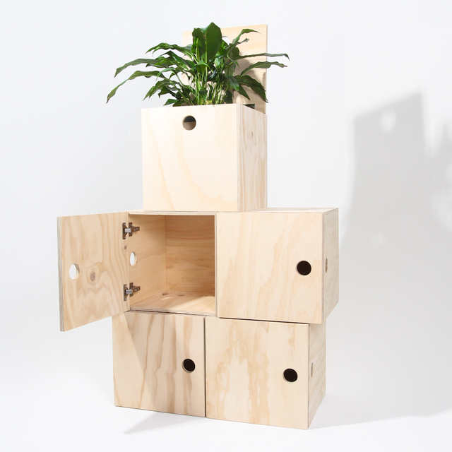 Ply Milk Crates by Like Butter - Crate, Box, Plywood, Storage, Records, Vinyl, Books, Clothes