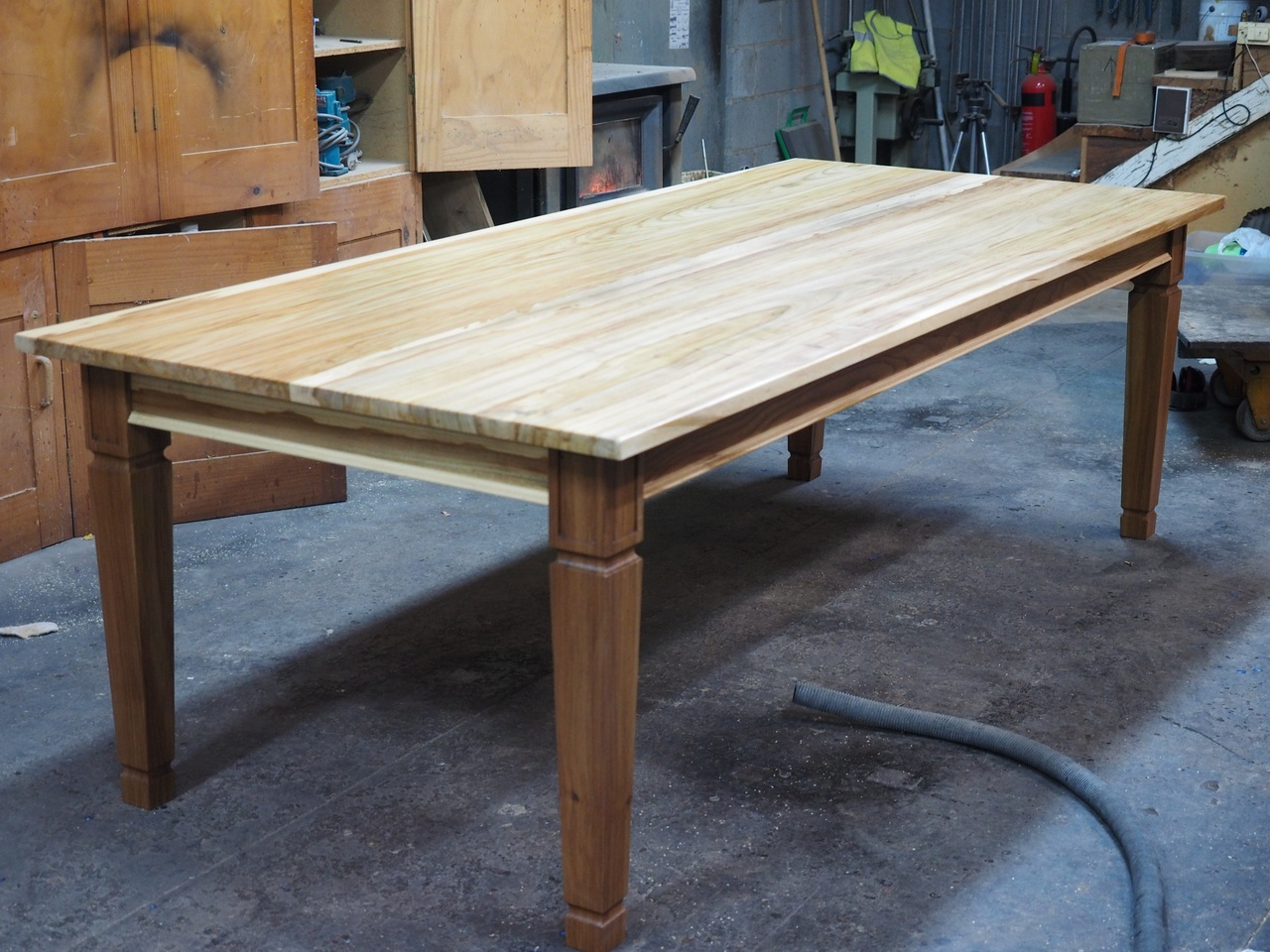 Elm dining table made from salvaged elm trees by andrew alstin elm dining table made from salvaged elm trees by andrew alstin handkrafted geotapseo Images