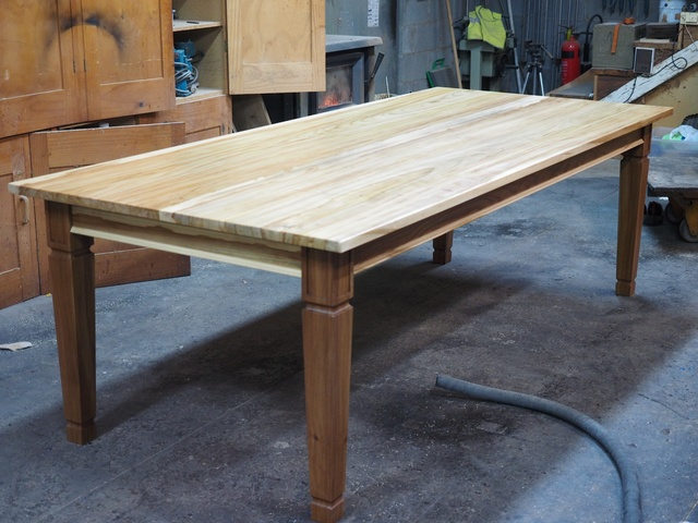 Elm Dining Table, Made From Salvaged Elm Trees By Andrew Alstin   Bespoke Dining  Table