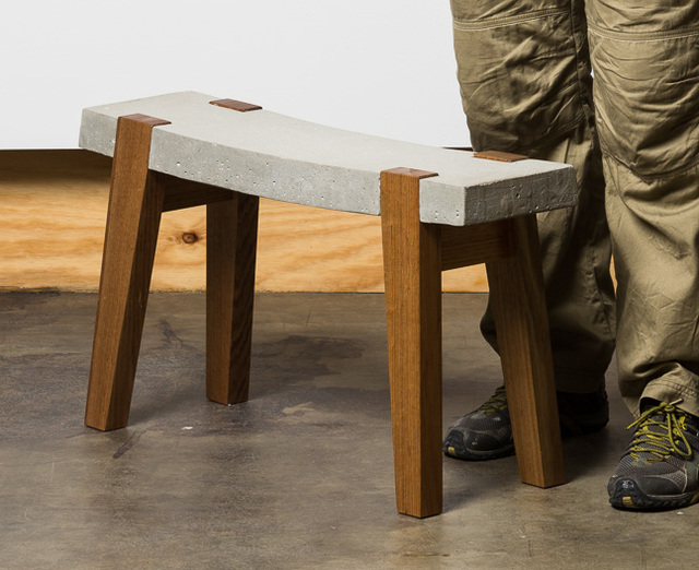 DAS 614 by Andrew Bartlett - Stool, Concrete