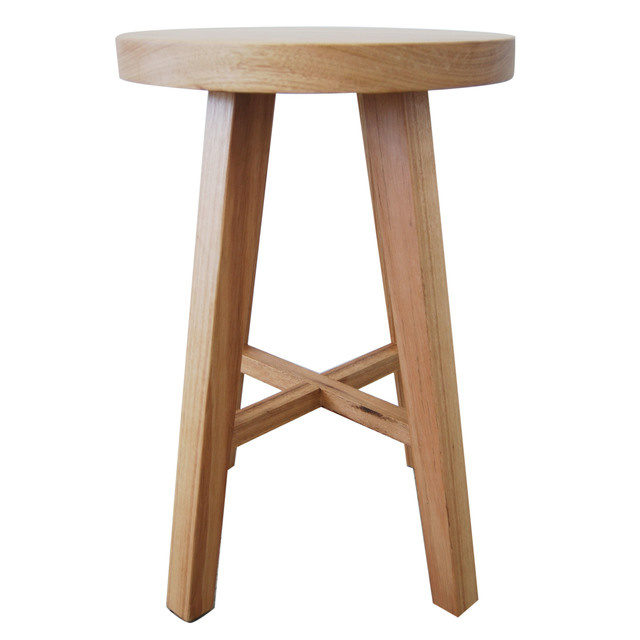 Low Rise Stool / Side Table  by RAW Sunshine Coast  - Stool, Side Table, Blackbutt, Seat, Chair, Timber