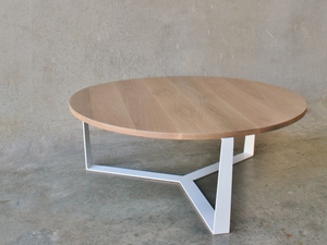 PURE 2 coffee table by RZID interiors - Furniture, Design, American Oak, Pure, Contemporary, Noosa, Coffee Tables, Dining Tables, Round Coffee Table, Round Dining Table