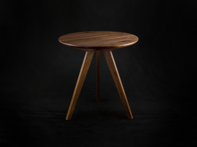 Meka Walnut Cafe Table by makimaki Furniture Works - Cafe, Walnut, Table, Mid Century, Side Table