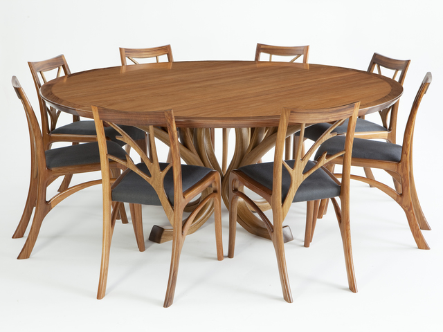Blackwood Magnolia Dining Suite by Will Marx - Tasmanian Blackwood, Blackwood, Dining Suite, Dining Room, Chair, Table, Mid Century, Dining Chair, Boardroom Table, Dining Table