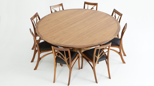 Blackwood Magnolia Table by Will Marx - Tasmanian Blackwood, Blackwood, Dining Table, Table, Boardroom Table, Mid Century, Solid Timber, Australian Timber, Retro, Modern