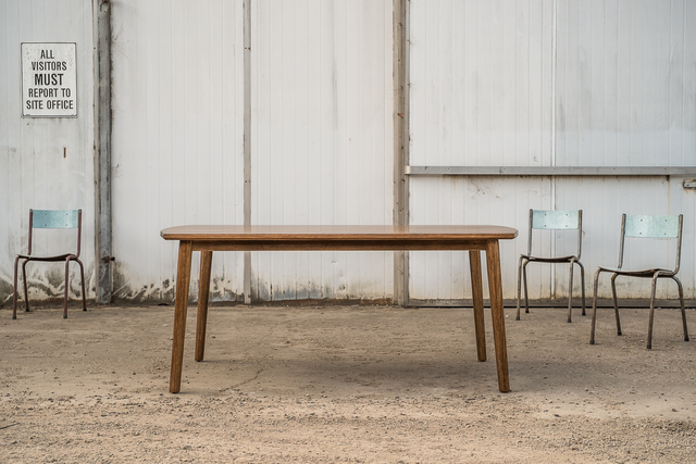 Cool Dining by Trevor Neal - Furniture, Mid Century Furniture, Scandinavian Mid Century, Dining Table, Interior Design, Interiors, Recycled Timber