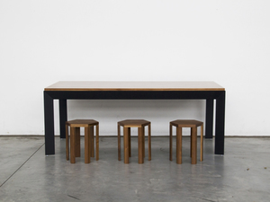 Slender Dining Table by Paradox Movement - Contemporary, Sleek, Dining Table, American Walnut, Black, Home, Decor, Interior Design, Interior Decor, Modern