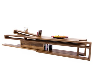 Ostberg Bench by Sawdust Bureau - Living Room, Bench, Media, Cabinet, Bookshelves