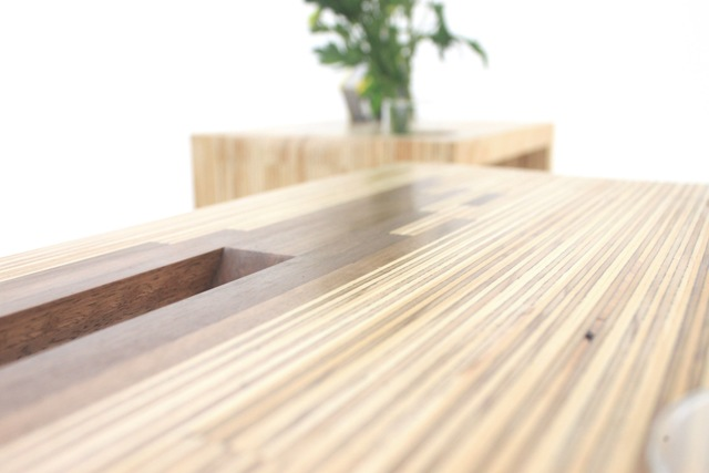 Ply Parasite by Sawdust Bureau - Ply, Coffee Table, Side Table, Rimu, Spotted Gum