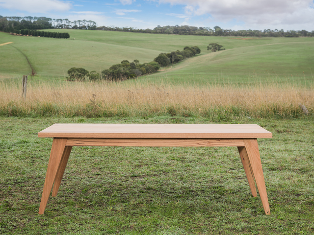 Bancora Dining Table by Bombora Custom Furniture - Dining Table, Mid Century Table, Melbourne, Geelong, Custom Dining Table, Timber Dining Table, Furniture Maker Geelong, Furniture Maker Melbourne, Custom Timber Table