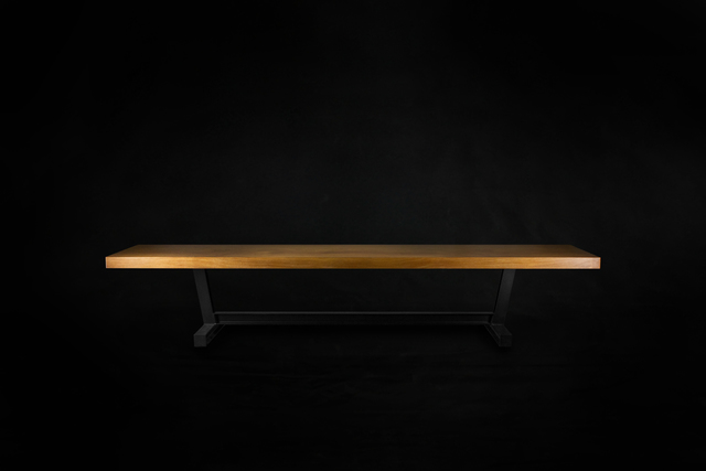 Tonka Table by makimaki Furniture Works - Slab, Boardroom Table, Dining Table, Steel