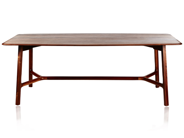 Dining Table by Andrew Pinnock - Wood, Dining Table, American Walnut
