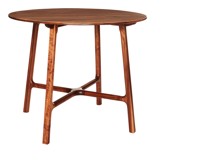 Breakfast Table by Andrew Pinnock - American Walnut, Breakfast Table, Wood