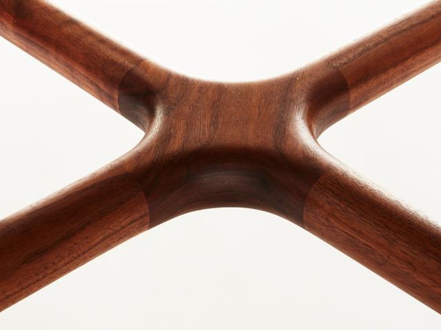 Breakfast Table by Andrew Pinnock - American Walnut, Breakfast Table, Wood