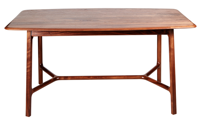 Small Dining Table by Andrew Pinnock - American Walnut, Wood, Dining Table