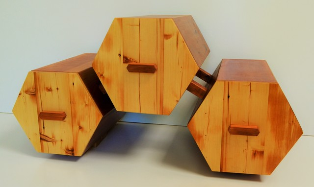 the atom by Luke  Neil - Furniture, Draws, Timber
